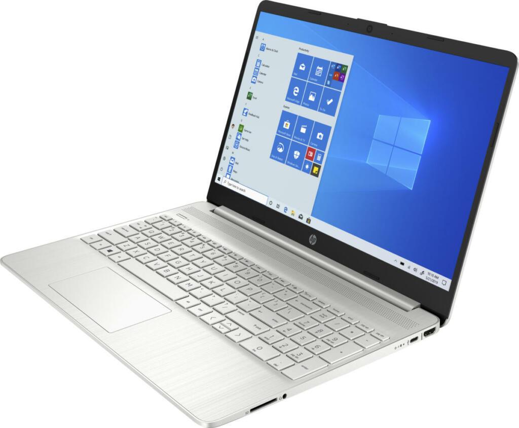 """HP 15-DY2051 Core™ i5-1135G7 2.4GHz 256GB SSD 8GB 15.6"""" (1366x768) BT WIN10  Webcam NATURAL SILVER"""